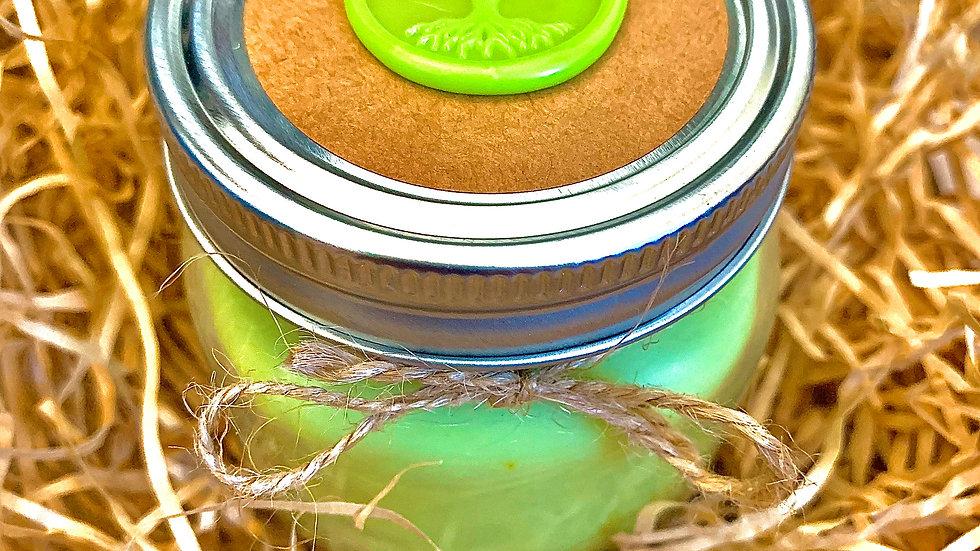 Jar Style 100% Organic Vegan Handmade Hemp Seed Oil CBD Scented Candle 5oz