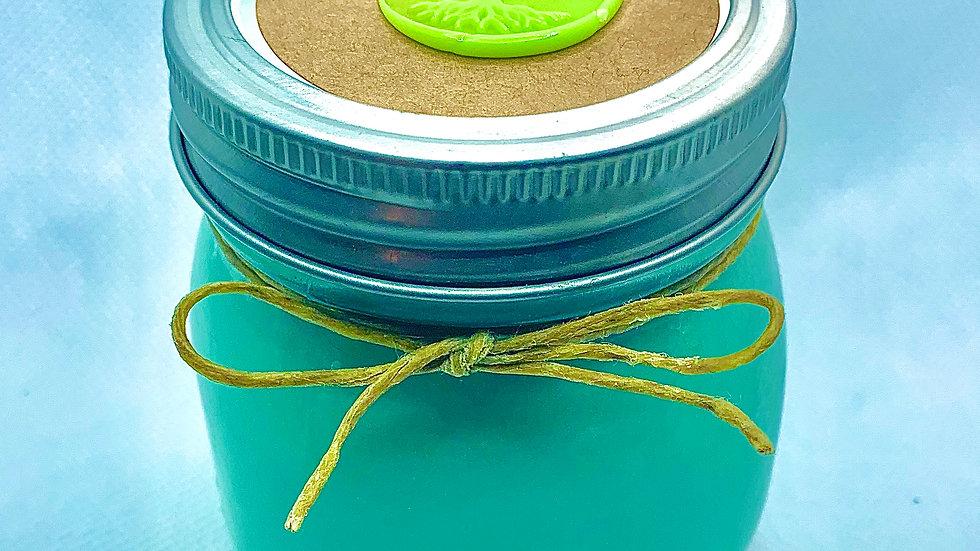 Jar Style 100% Organic Vegan Handmade Hemp Seed Oil CBD Scented Candle 10oz