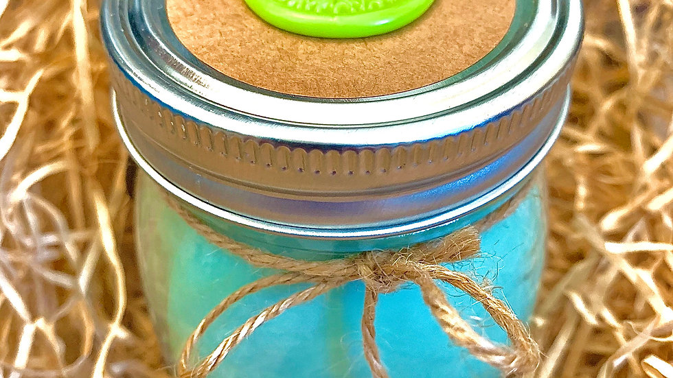 Jar Style 100% Organic Vegan Handmade Scented Hemp Seed Oil CBD Candle 8oz