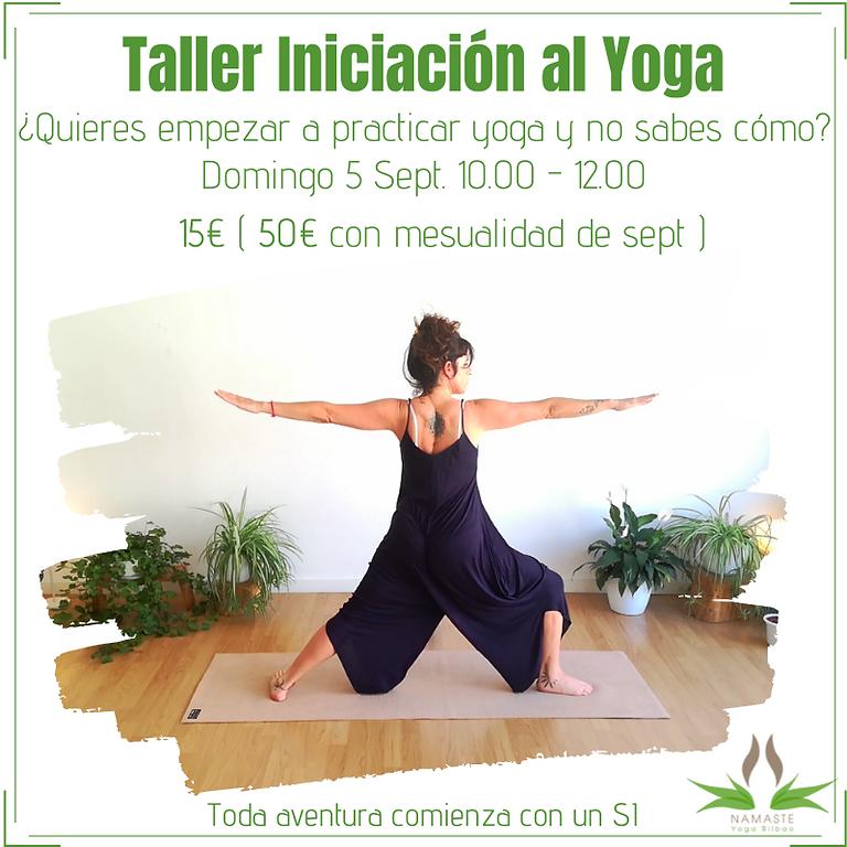Introducción al Yoga -Taller para principiantes-