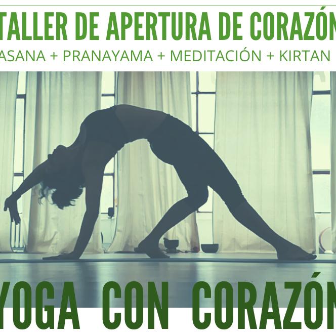 Yoga Con Corazón -Yoga + Kirtan -3ª Edición!