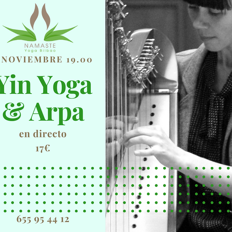 YIN YOGA & ARPA en directo