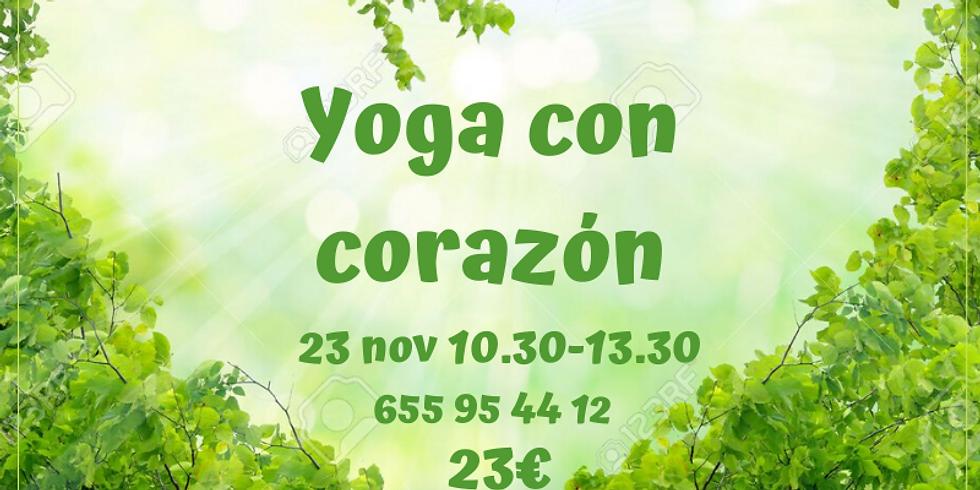 Yoga Con Corazón -Yoga + kirtan-