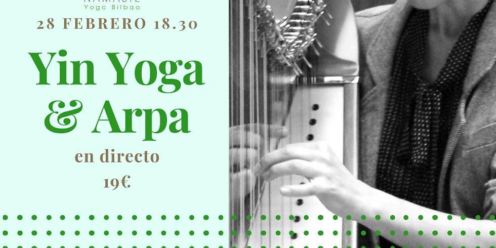 Yin Yoga & Arpa con Olatz & Olesia