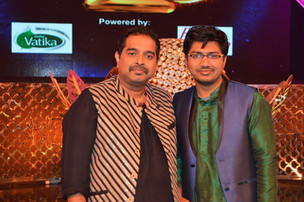 With Sri Shankar Mahadevan @ ETV's 20th Anniversary Celebrations