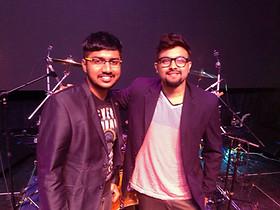 With Yasin Nizar @ Telugu Convention in the US