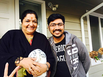 WIth the ever smiling and sweet legend Smt.Chitra