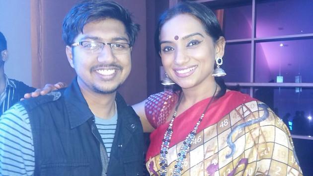 With Sri.Kalpana @ ETV 20