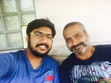 Break time with Sri S.P.Charan @ SPB50