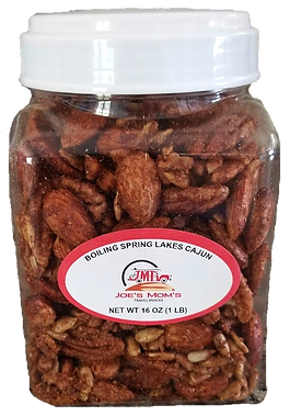 BSL CAJUN SPICED PECANS 1lb canister