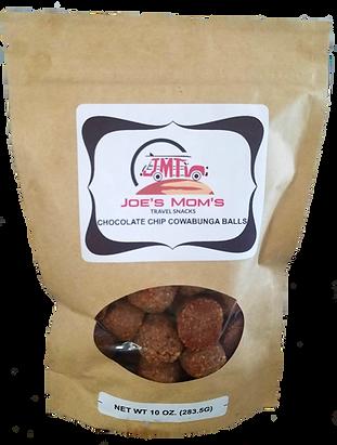 CHOCOLATE CHIP COWABUNGA BALLS 10oz bag