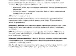 ARB Uvjerenje o profesionalnom iskustvu i razvoju