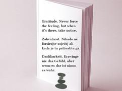 Zahvalnost / Gratitude / Dankbarkeit