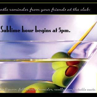 Havana Martini Club Magazine Ad