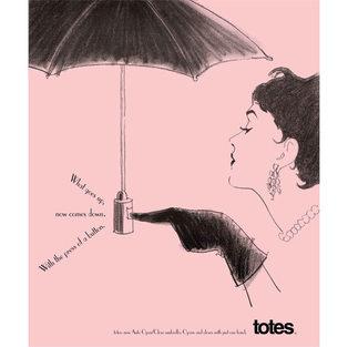 Totes Umbrella Magazine Ad