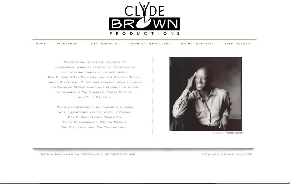 Clyde Brown Website