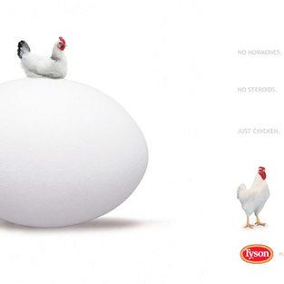 Tyson Chicken Magazine Ad