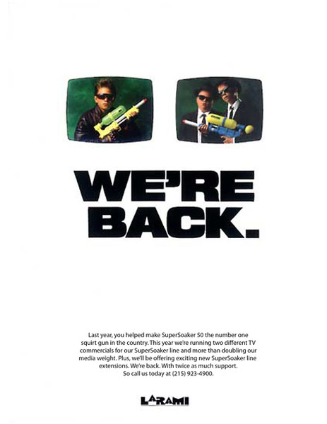 SuperSoaker Advertising