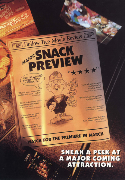 "Keebler ""Ernie The Elf"" Academy Awards Promotion"