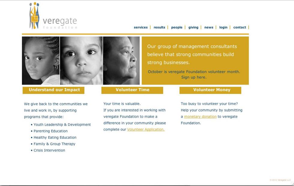 Veregate Website