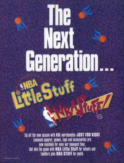 NBA Little Stuff/Kids Stuff Branding