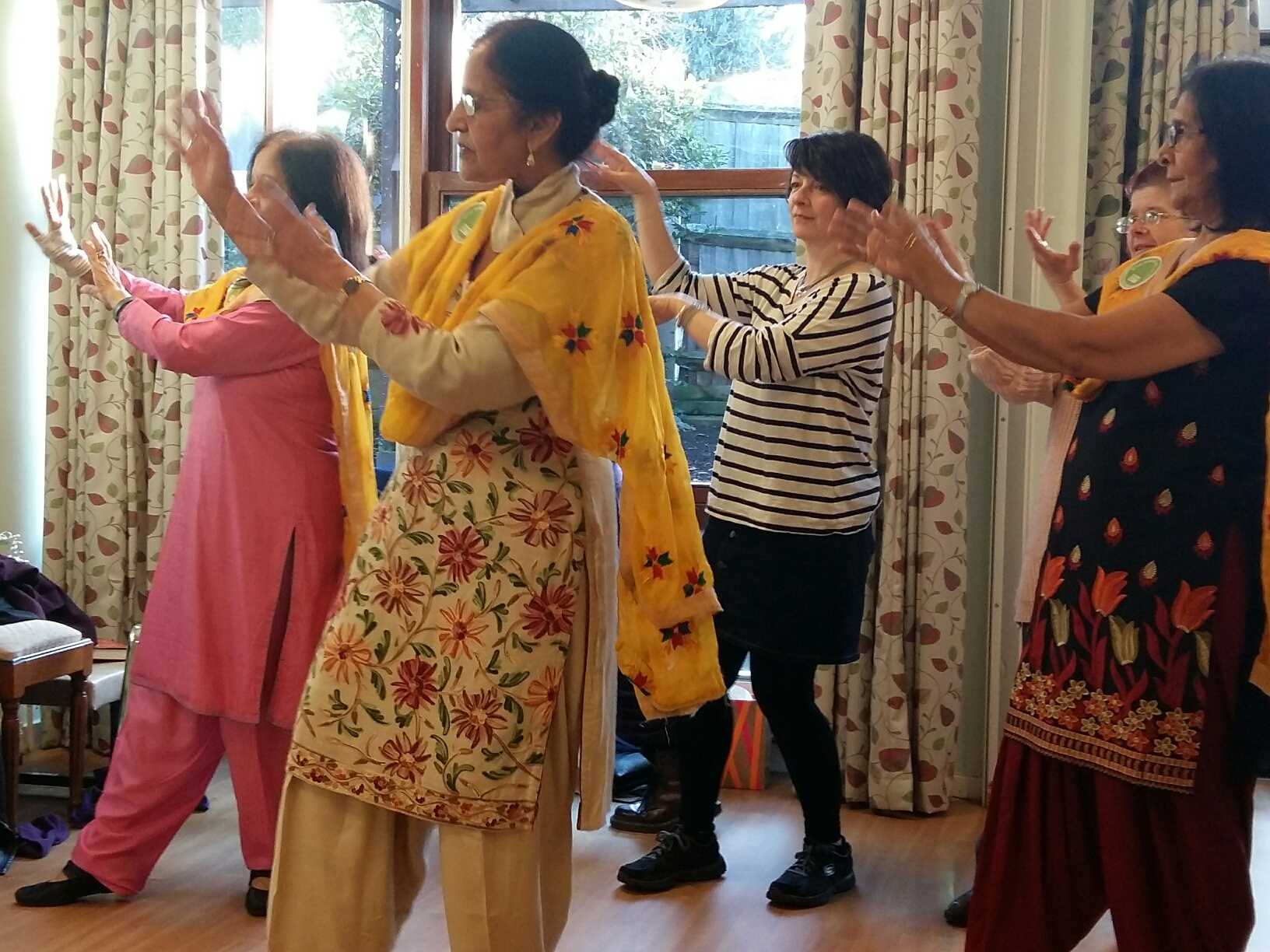 Wembley's Bollywood Mitzvah Day