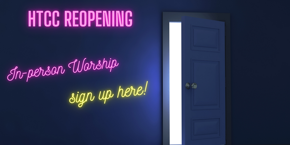 In-Person Worship!
