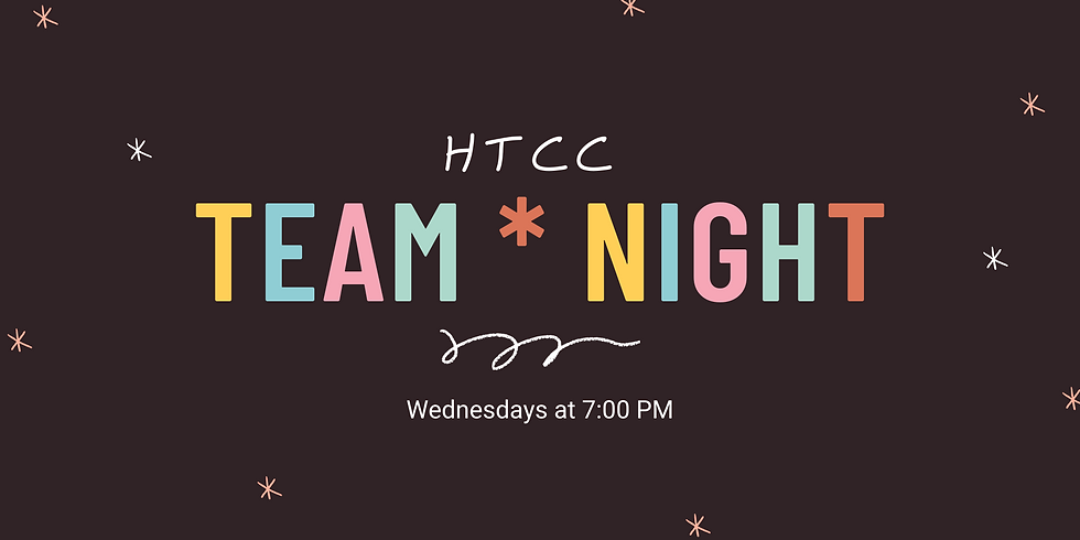 Team Night! (Becoming a Welcoming Church)