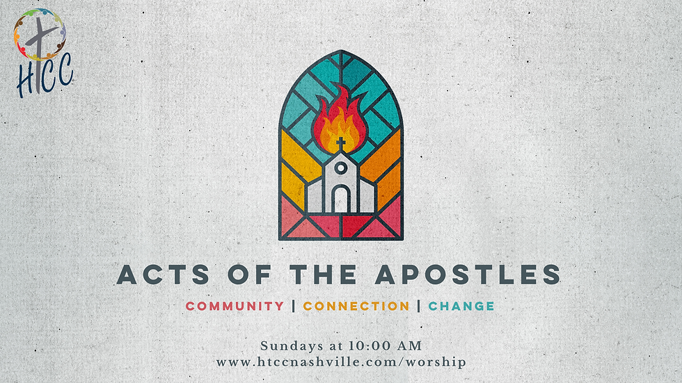 Acts of the Apostles Series Slide Graphi