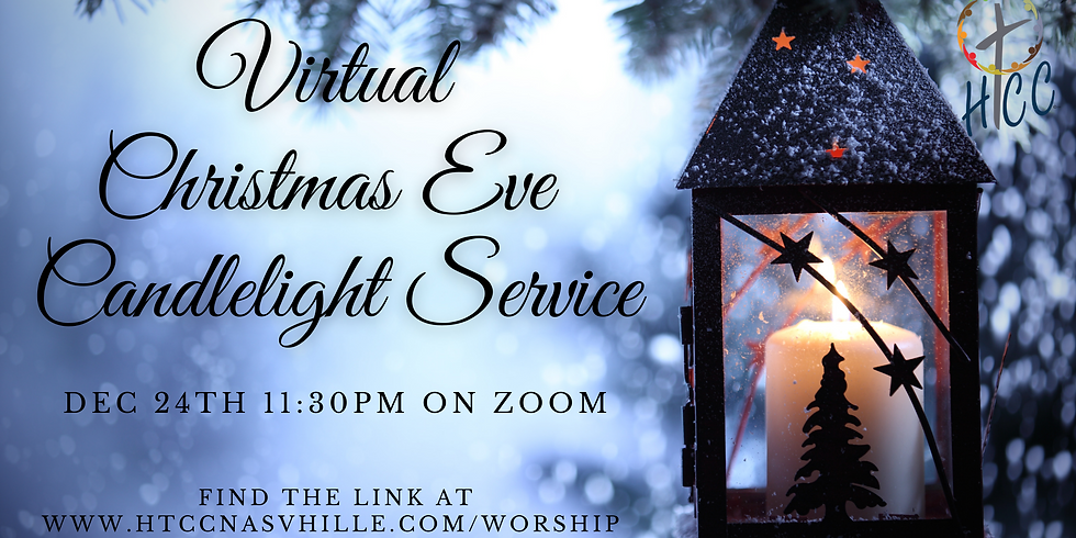 Virtual Christmas Eve Candlelight Service