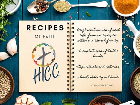 Recipes of Faith: Alan Strickler's Life Journey