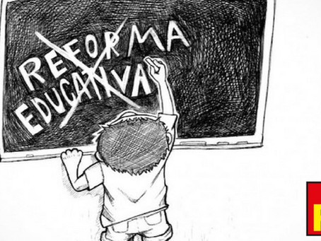 PT A FAVOR DE CANCELAR REFORMA EDUCATIVA