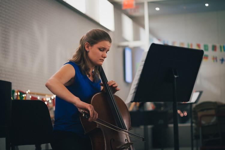 Glorya Kaufman Dance Studio, The Juilliard School, New York, NY