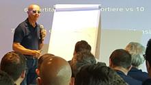 Presentation on the flipchart