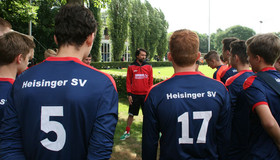 Training with players