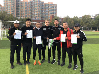 Gruppenbild in China