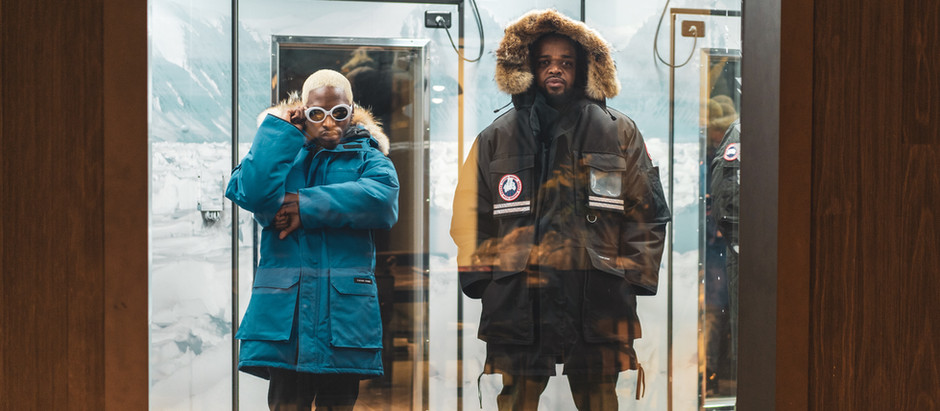 SHIFTER teams up with rapper Lance Lorenzo to promote Canada Goose opening at CF Rideau Centre