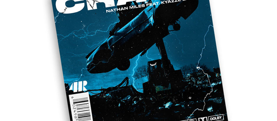 """Press Release: Nathan Miles reveals cover art for upcoming single """"Crash"""""""