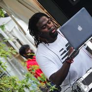 DJ Prosper at RBC Bluesfest