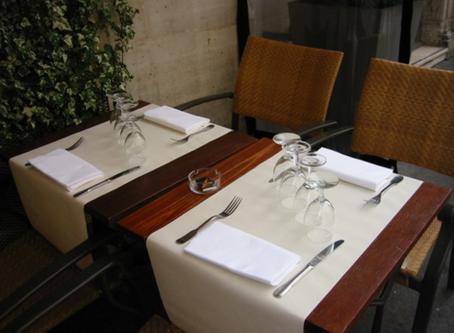 イタリアンレストランで