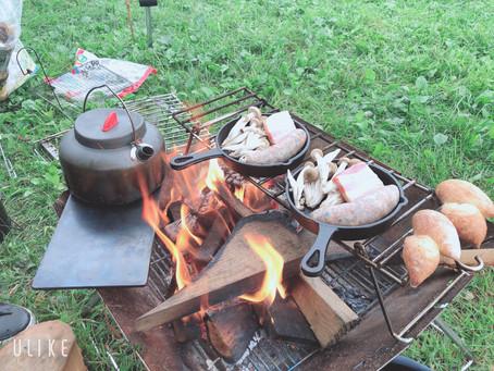 シェフとキャンプ飯