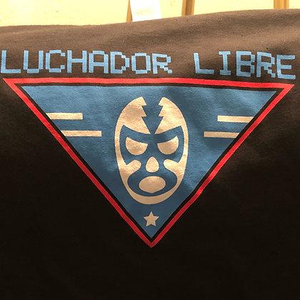 Luchador Logo Tee - Black