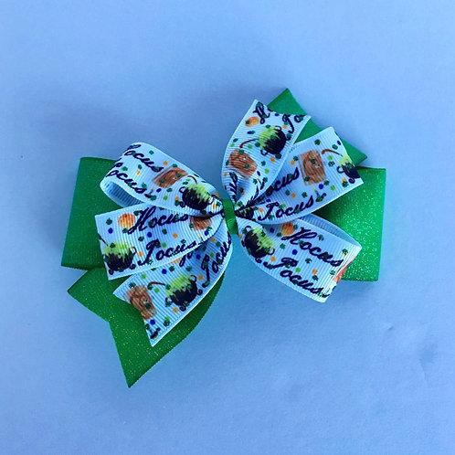Hocus Pocus double pinwheel bow