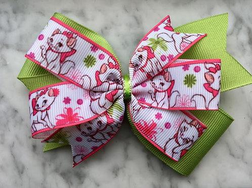 Aristocats Double Pinwheel Bow