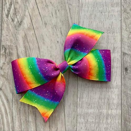Rainbow single loop bow