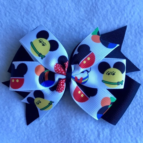 Mickey & Friends Double Pinwheel Bow