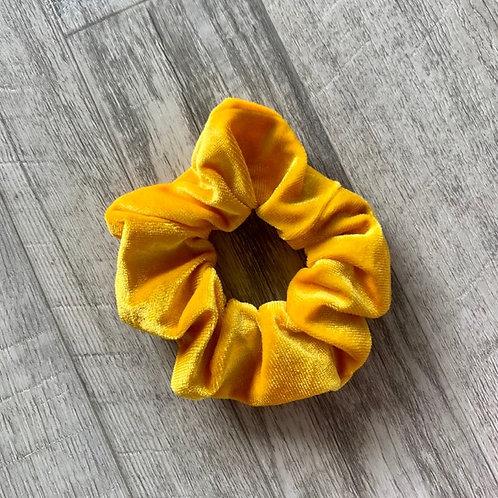Daffodil Velvet Scrunchie