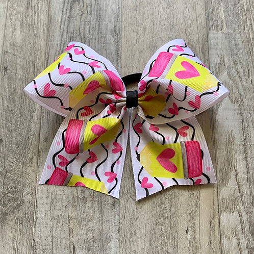 Pencil Cheer Style Bow