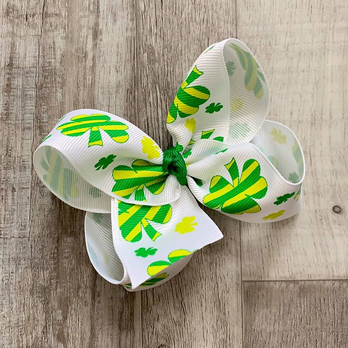 St. Patrick's Day Loopy Bow