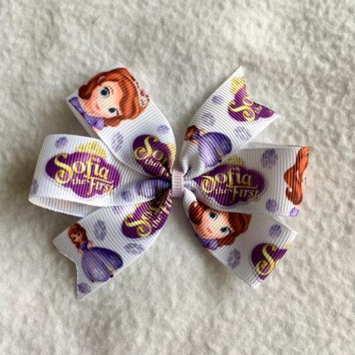 Sofia the First Mini Pinwheel Bow